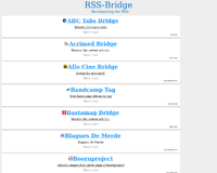 thumbshot du site bridge.leslibres.org